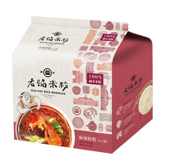 純米麻辣鮮蝦風味湯米粉 2