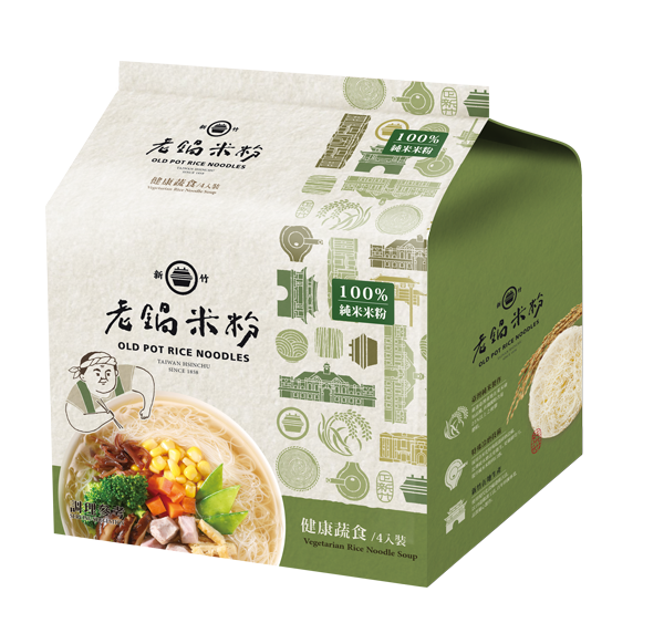 純米健康蔬食風味湯米粉(純素) 2